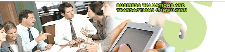 Business Valuations and Transactions Consulting